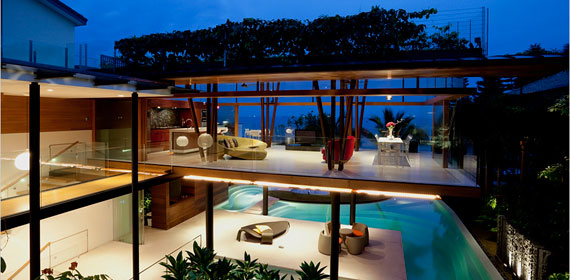 Guz architects lively Fish house singapore
