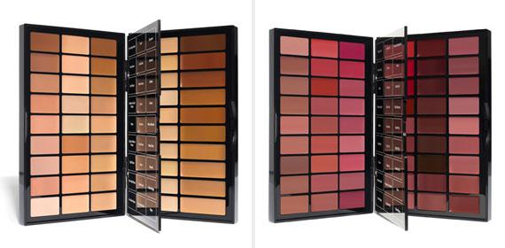 BBU Palette (left) & Artist Palette for Lips (right)